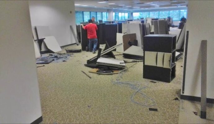 Office Clean Out-Palm Beach County's Best Dumpster Removal Services-We Offer Residential and Commercial Dumpster Removal Services, Dumpster Rentals, Bulk Trash, Demolition Removal, Junk Hauling, Rubbish Removal, Waste Containers, Debris Removal, 10 Yard Containers, 15 Yard to 20 Yard to 30 Yard to 40 Yard Container Rentals, and much more!